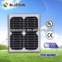 High quality 5w 10w 15w mono crystalline solar pv panel for sale