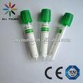dispossible heparinizada de vacío del tubo capilar aprobado por la ce