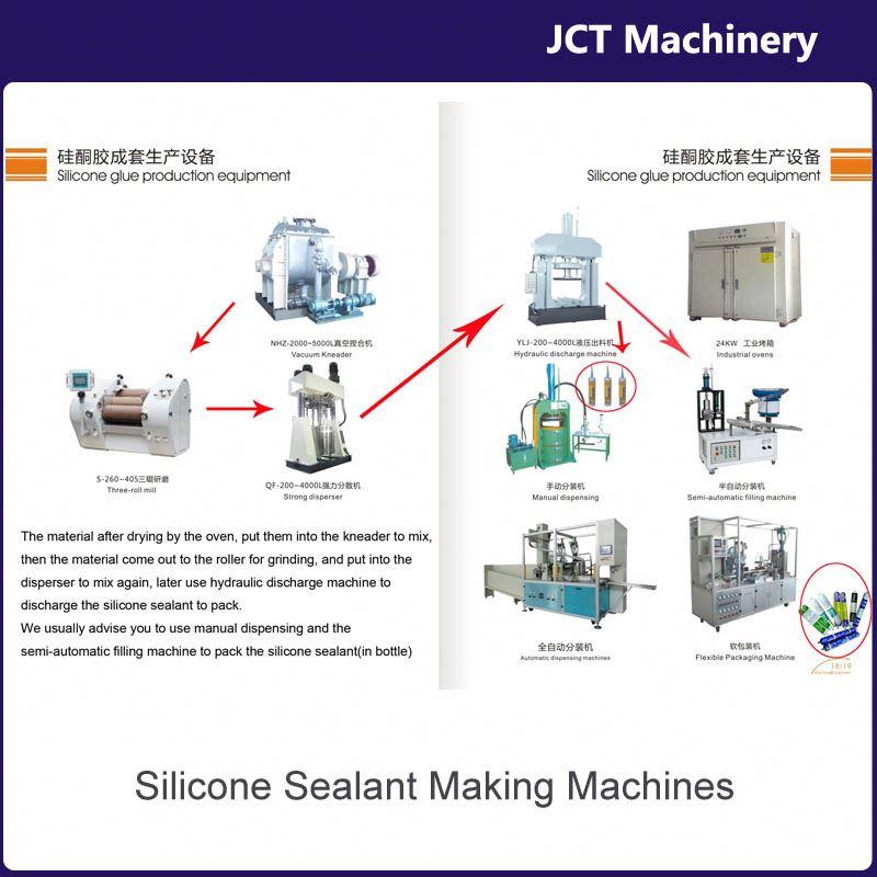 machine for making waterproof high temperature sealant