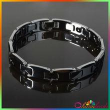 B015004 Tungsten bracelets men top jewelry