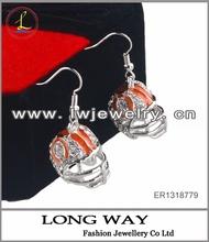 2014 fashion alloy earring big earrings