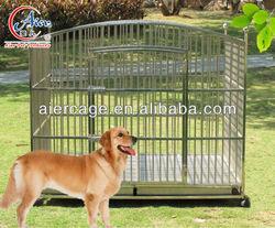 round top metal dog kennel
