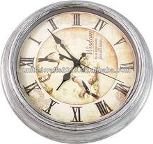 plastic 6 inches decorative wall clock