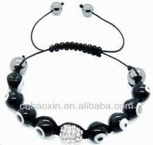 Cheap DIY Woven Evil Eye Knitted Bracelets