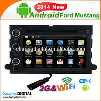 Ford Mustang 2014 pure android 4.2 Car Radio GPS Navigation