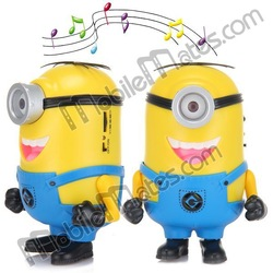Despicable Me Stereo Mini Speaker Portable Wireless Audio Loudspeaker With USB/TF Card FM Radio