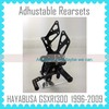 Quality Motorcycle Parts Factory Adjustable Rearsets For SUZUKI HAYABUSA GSXR1300 1999-2009