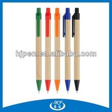 Cheap Promotional Recycle Paper Ballpen Eco Pen