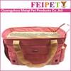 High quality pink pet bag dog purses