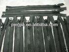 "23"" #5 Molded Plastic Zips ~ Separating ~ Black"