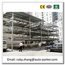 2-6 Floors Carousel Parking Smart Parking Vertical Parking Elevated Car Parking 3d Puzzle Car Parking System Car Parking