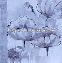 fatta a mano floreale tela per la decorazione domestica
