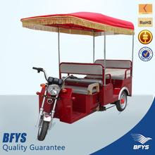 2014 battery powered solar rickshaw