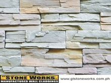 MANUFACTURED STONE WALL CLADDING - LEDGESTONE HAMPTON
