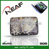 New style promotional flat clutch hinge card wallets