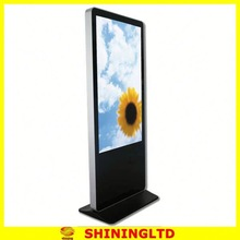 thinner limitless multi touch lcd display indoor