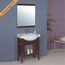 Modern vanity cabinet double sink white corner bathroom cabinet