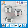 New arrival stainless steel non stick cookware set,german cookware sets