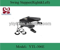fitness leg exercise machine sit-down stepper/moon surfing stepper/ swing stepper with rope