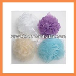 stocklot cheap soft loofah mesh Bath Sponge