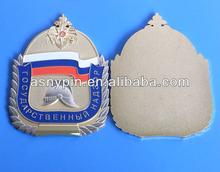gold auto badge emblem, metal grill car emblem auto badge logo decals