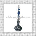 hot sale big hookah shisha nargile mosaic glass hookah modern hookah