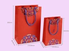 new design paper bag luxury lovely wedding favor