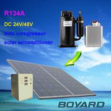 globe telecom 48v kompressor KVB096Z48 for Solar Air Conditioner System solar cold storage for telecom shelter Cabin