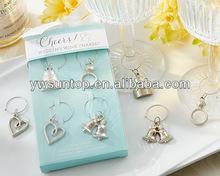Cheers Wedding Wine Charms useful wedding gifts