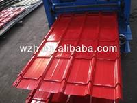 Corrugated roof steel tile/ brick color at different model