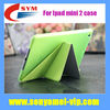 Factory Price High Quality Clear Case for Ipad Mini 2 Smart Cover, Leather case for Ipad mini 2