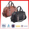 Large lighweight Travel Sport Gym bag Wholesale leather duffle bag