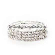 Corsage Diamante Bracelet wedding crafts floral decoration