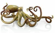 Octopus Glass Crafts /Crystal gift/ Handmade blown