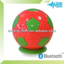 2014 High quality colorful my vision Bluetooth Mini soccer ball speaker handsfree home wireless speaker system