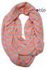 fashion polyester wholesale stripe tube scarf