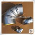 rekabetçi fiyat yüksek basınç alüminyum boru dirsek yalıtım örtüsü altın tedarikçisi
