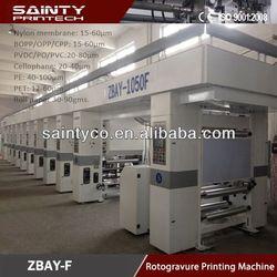 Verified Quality 1-6 Color Cheap Paper Plastic Bag Printing Machine
