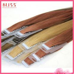 2014 new arrival skin tape hair weaving
