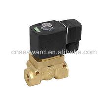 2/2 way high pressure high temperature brass solenoid valve water valve 523 series
