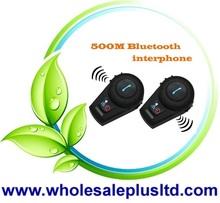 500m Motorcycle BT Bluetooth Headset Helmet Intercom(BH-03)