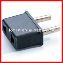 220V 2 Pin US TO EU AC plug adapter Plug & Converter Adapter