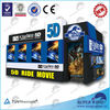 Amusement park 9d cinema equipment hot sale 5d animation movies