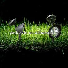 2014 new Garden 3pcs LED outdoor high power led solar spot light