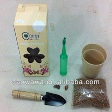 CAOWAWA -Garden Tool and Tote Set--black or light green