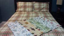 Stock 100% cotton Flannel Sheet Set