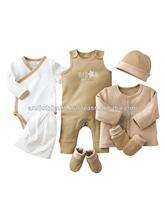 NEW BORN BABY 6 PCS SET CLOTHES