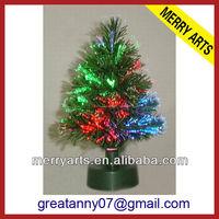 2ft 60cm small fiber optic mini christmas trees tabletop home decor led christmas tree