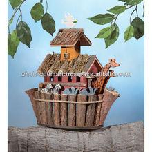 Wood Noah Ark's Birdhouse, Bird House