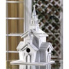 Little White Chapel Birdhouses, Bird House